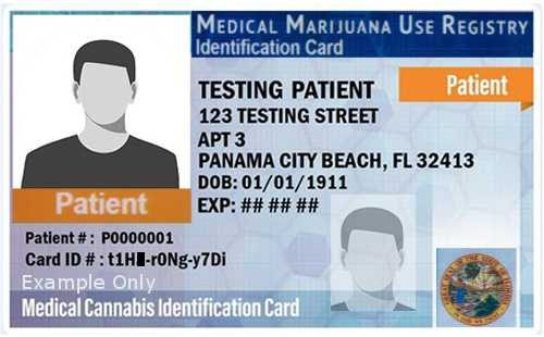 qualify for medical marijuana id card in florida